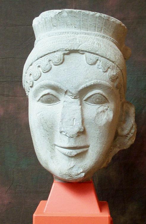head of hera from olympia